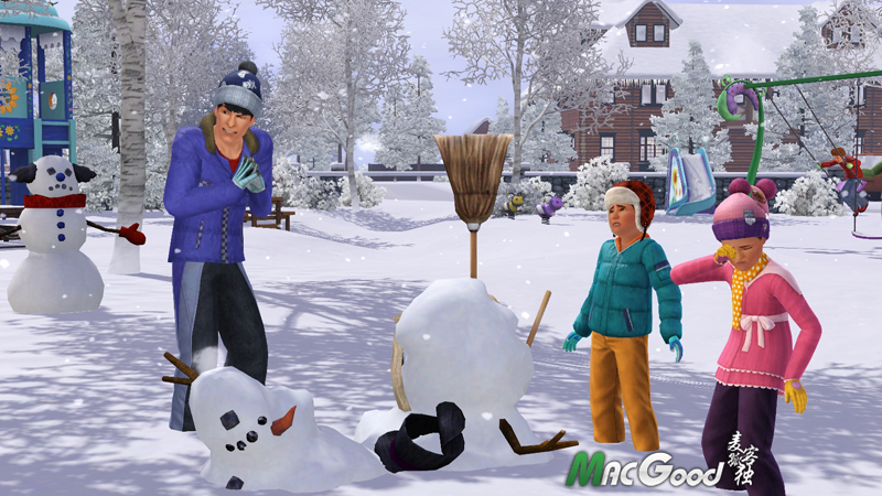 《模拟人生3:春夏秋冬》The Sims 3 Seasons v1.42 for mac
