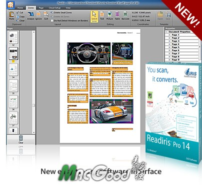 Readiris Corporate ESD 14.0.3 for mac 光学识别OCR软件 最新破解版