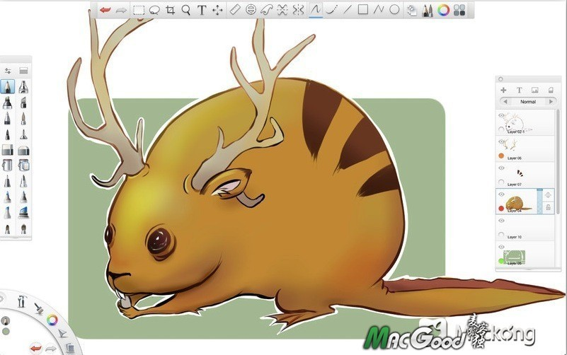 autodesk sketchbook pro 2015 v6.2.5 macosx 专业数字素