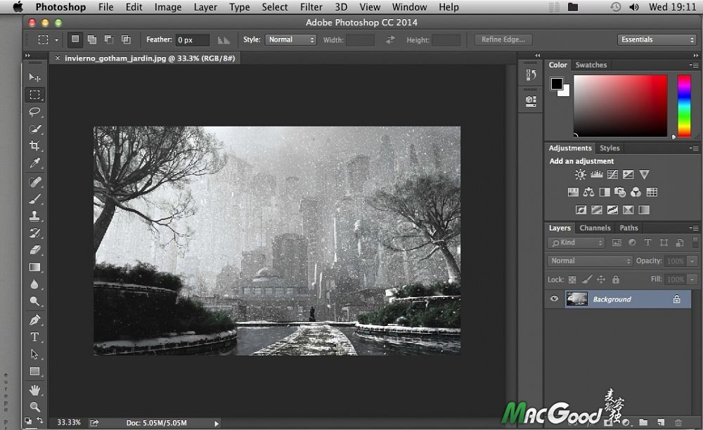 Adobe Photoshop CC 2014 v15 Photoshop for mac 完整破解版下载