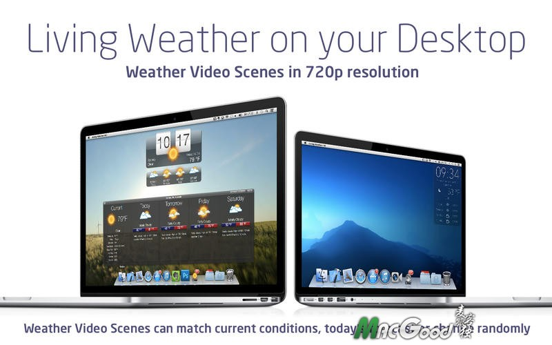 Living Weather HD for mac