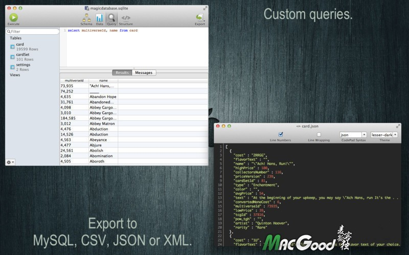 SQLite Professional for mac