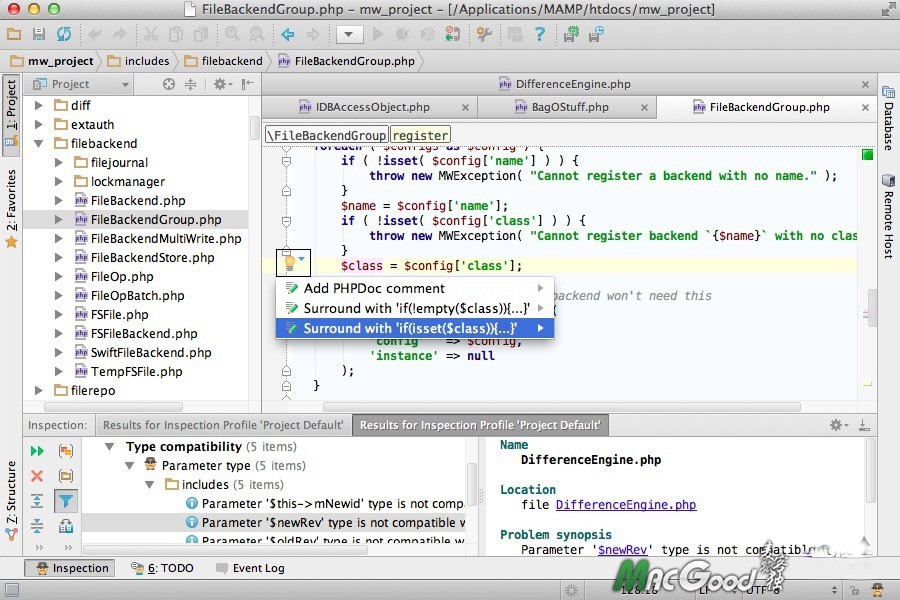 PhpStorm for mac