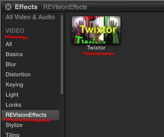Twixtor Pro for mac