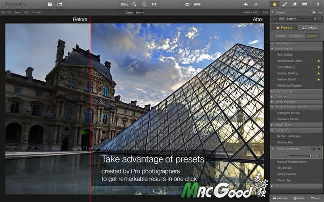Intensify Pro for mac