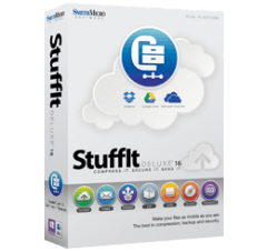 StuffIt Deluxe for Mac v16.0  Mac上强大的解压缩软件