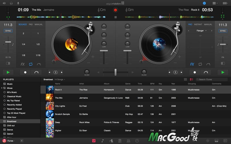 djay Pro for mac