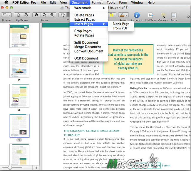 Wondershare PDF Editor Pro for mac